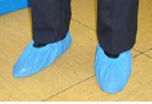 Chaussons piscine couvre chaussures plastique de couleur for Chaussons de piscine