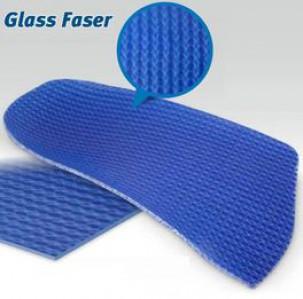 plaque glass fasser de fibre de verre bleue autres mat riaux podiatriques mat riaux. Black Bedroom Furniture Sets. Home Design Ideas