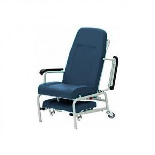 Fauteuil g riatrique des patients bleu clinique et couleur for Fauteuil chambre hopital