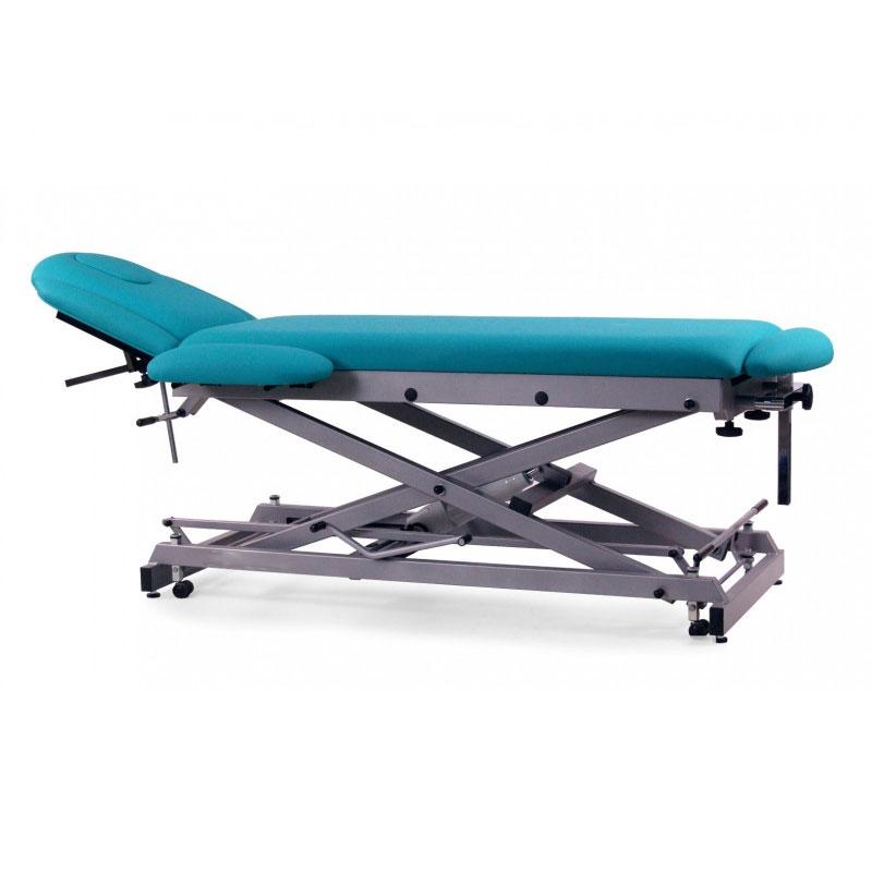 hydraulique multifonction osteopathic table de massage 7 bodies avec r glage en hauteur motoris. Black Bedroom Furniture Sets. Home Design Ideas